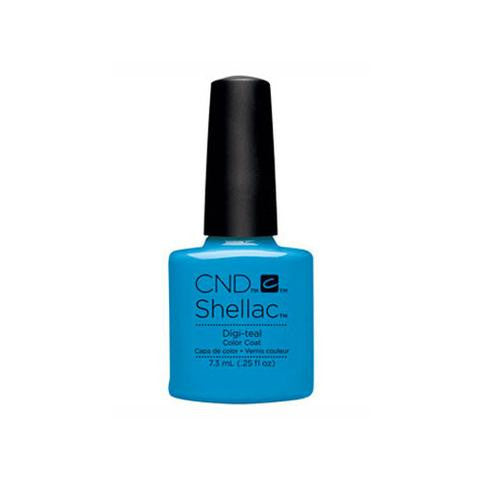 CND SHELLAC -  DIGI - TEAL.25 OZ. - Nails Plus Depot - Professional Nail Supplies