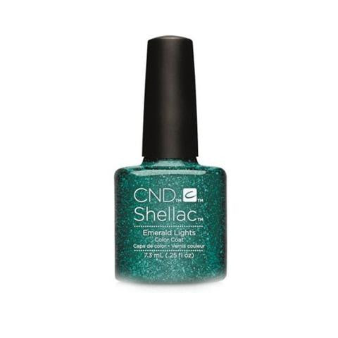 CND SHELLAC - EMERALD LIGHTS  .25 OZ. - Nails Plus Depot