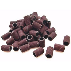 RED SANDING BANDS 100 CT. - Nails Plus Depot