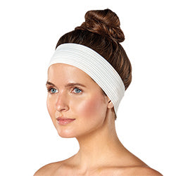 DISPOSABLE HEADBANDS WITH VELCRO CLOSURE - 4 PK - Nails Plus Depot