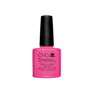 CND SHELLAC - FUTURE FUSCHIA   .25 OZ. - Nails Plus Depot