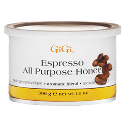 GIGI ALL PURPOSE HONEE EXPRESSO WAX 14 OZ. - Nails Plus Depot