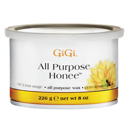 GIGI ALL-PURPOSE ALL-NATURAL HONEE WAX 8 OZ. - Nails Plus Depot