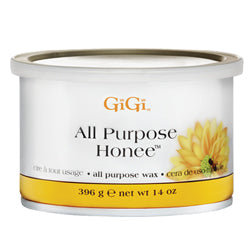 GIGI ALL-PURPOSE ALL-NATURAL HONEE WAX 14 OZ. - Nails Plus Depot