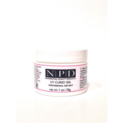 FRENCH WHITE BUILDER UV GEL 1 OZ. - Nails Plus Depot