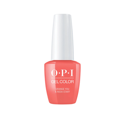 OPI GELCOLOR NEON COLLECTION -ORANGE YOU A ROCK STAR ? - Nails Plus Depot