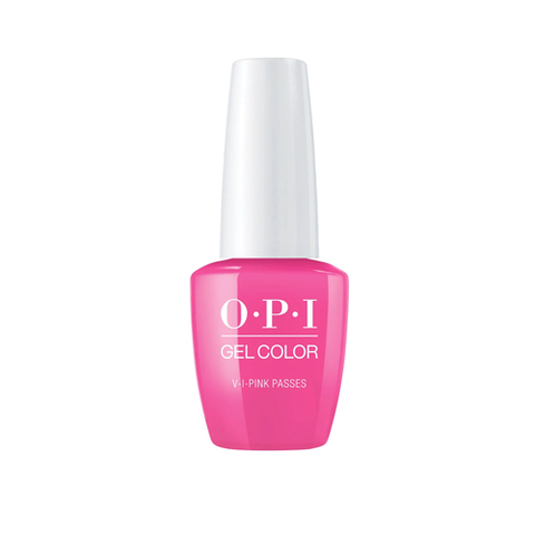OPI GELCOLOR NEON COLLECTION -V-I-PINK PASSES - Nails Plus Depot