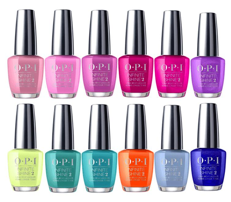 OPI Infinite Shine Tokyo Collection Spring Summer 2019 - Nails Plus Depot