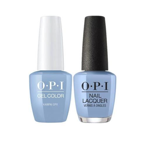 OPI GelColor + Matching Nail Lacquer Kanpai OPI! - Nails Plus Depot