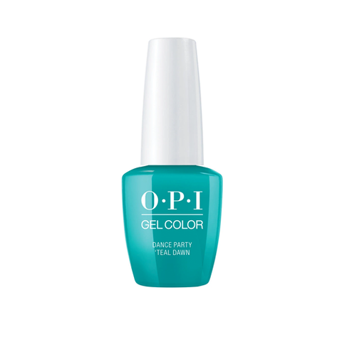 OPI GELCOLOR NEON COLLECTION -DANCE PARTY TEAL DAWN - Nails Plus Depot