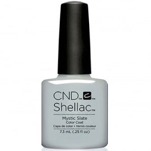 CND SHELLAC - GLACIAL ILLUSION THE COLLECTION - MYSTIC SLATE  0.25 OZ. - Nails Plus Depot