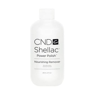 CND SHELLAC - POWER POLISH NOURISHING REMOVER 8 OZ. - Nails Plus Depot