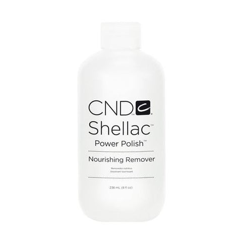 CND SHELLAC - POWER POLISH NOURISHING REMOVER 8 OZ. - Nails Plus Depot - Professional Nail Supplies