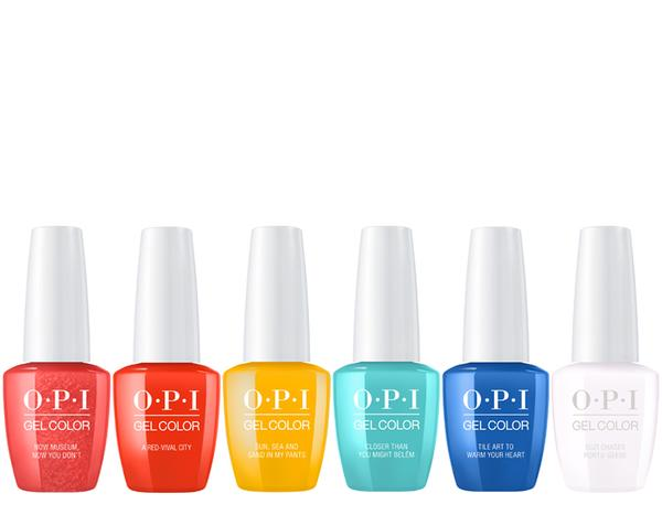 OPI GELCOLOR LISBON COLLECTION SPRING 2018 SET - Nails Plus Depot