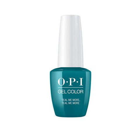 OPI GREASE COLLECTION -TEAL ME MORE TEAL ME MORE 15 ML. - Nails Plus Depot