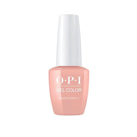 OPI PERU COLLECTION- MACHU PEACH-U .5 OZ. - Nails Plus Depot