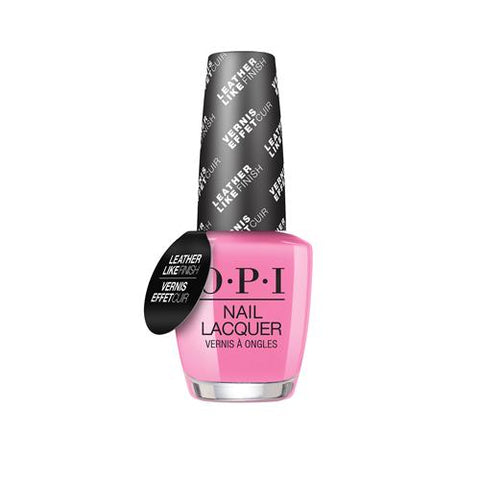 OPI GREASE COLLECTION '' LEATHER LIKE EFFECT '' - ELECTRYFYIN' PINK 15 ML. - Nails Plus Depot