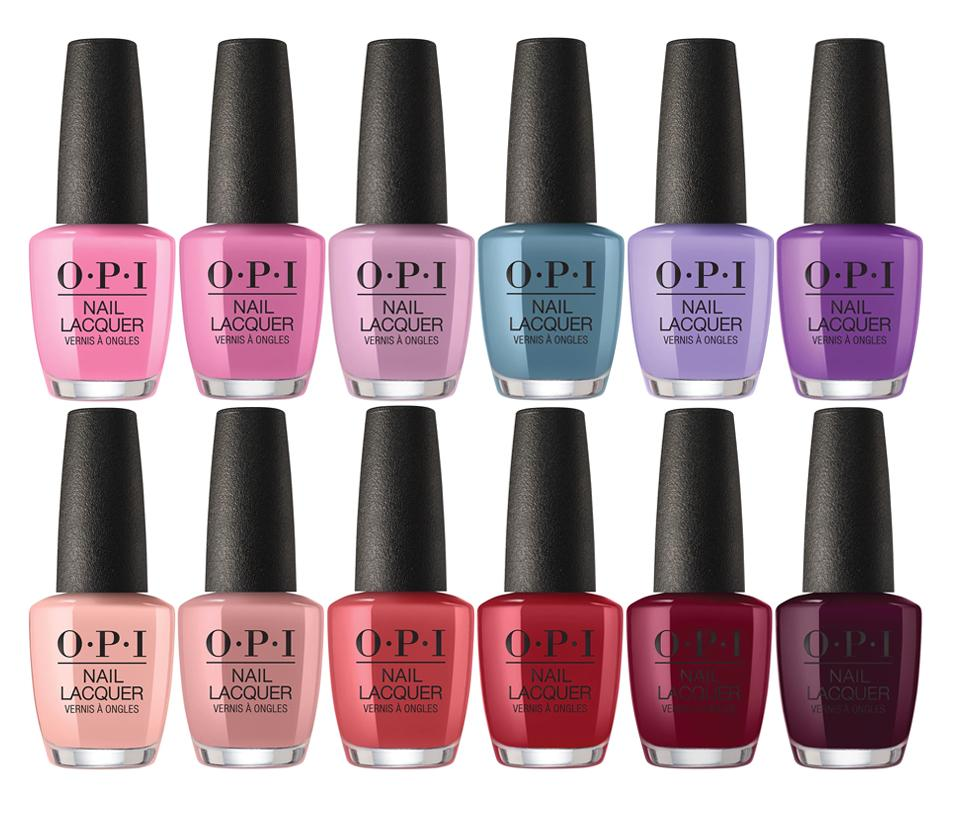 OPI PERU NAIL LACQUER COLLECTION 12 CT. - Nails Plus Depot