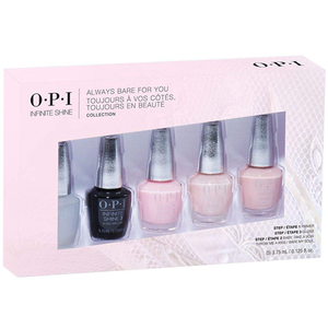 OPI MINI INFINITE SHINE ALWAYS BARE FOR YOU COLLECTION - Nails Plus Depot