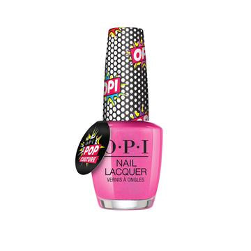 OPI POP CULTURE COLLECTION- PINK BUBBLY  15 ML. - Nails Plus Depot