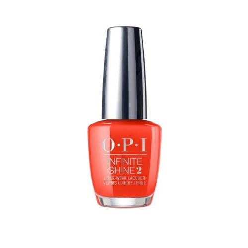 OPI INFINITE SHINE A RED-VIVAL CITY 15ML. - Nails Plus Depot