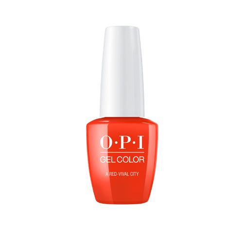 OPI GELCOLOR A RED-VIVAL CITY 15ML. - Nails Plus Depot