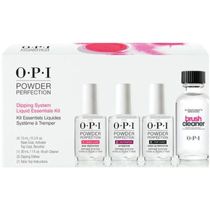 OPI POWDER PERFECTION DIPPING SYSTEM LIQUID ESSENTIALS KIT - Nails Plus Depot