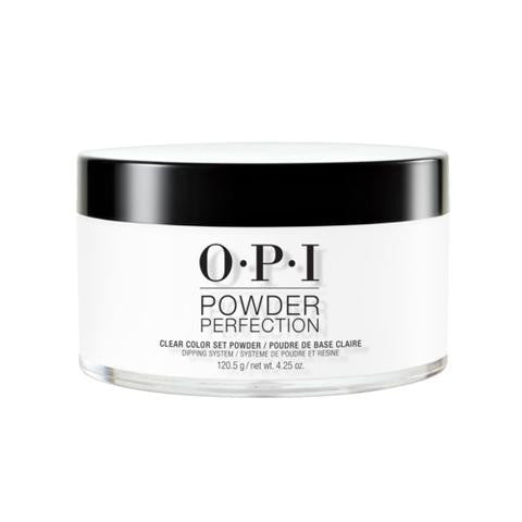 OPI  POWDER PERFECTION CLEAR COLOR SET POWDER 4.5 OZ. - Nails Plus Depot