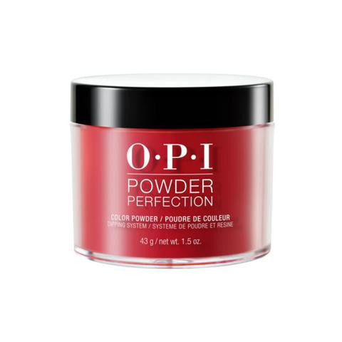 OPI POWDER PERFECTION THE THRILL OF BRAZIL COLOR POWDER 1.5 OZ. - Nails Plus Depot