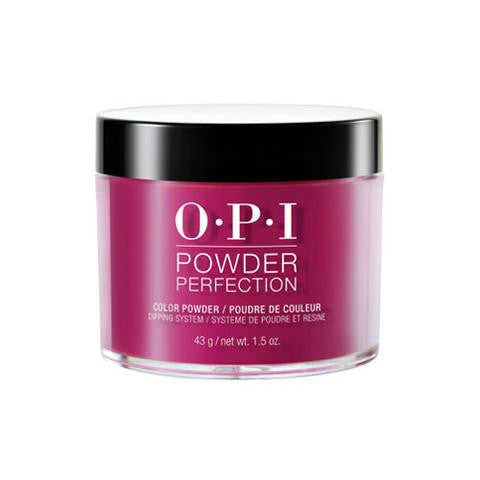 OPI  POWDER PERFECTION SPARE ME A FRENCH QUARTER? COLOR POWDER 1.5 OZ. - Nails Plus Depot