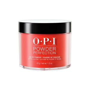 OPI  POWDER PERFECTION A GOOD MAN-DARIN IS HARD TO FIND COLOR POWDER 1.5 OZ. - Nails Plus Depot