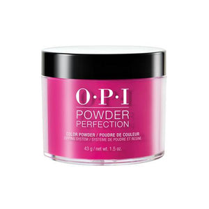 OPI  POWDER PERFECTION PINK FLAMENCO COLOR POWDER 1.5 OZ. - Nails Plus Depot