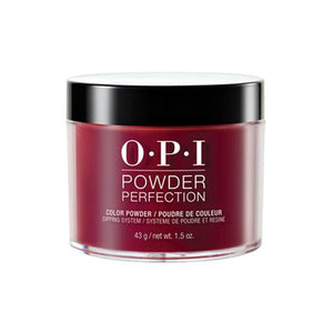 OPI POWDER PERFECTION MALAGA WINE COLOR POWDER 1.5 OZ. - Nails Plus Depot