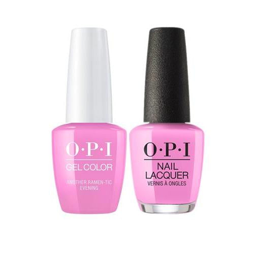 OPI GelColor + Matching Nail Lacquer Another Ramen-Tic Evening - Nails Plus Depot