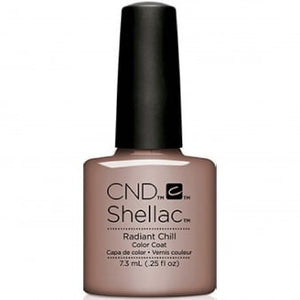 CND SHELLAC - GLACIAL ILLUSION THE COLLECTION - RADIANT CHILL  0.25 OZ. - Nails Plus Depot