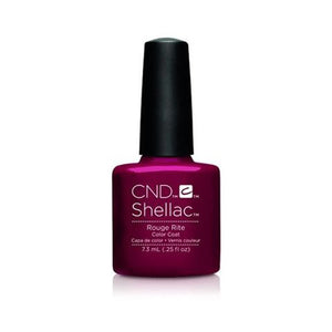 CND SHELLAC - ROUGE RITE  .25 OZ. - Nails Plus Depot