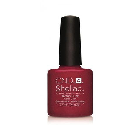 CND SHELLAC - TARTAN PUNK  .25 OZ. - Nails Plus Depot