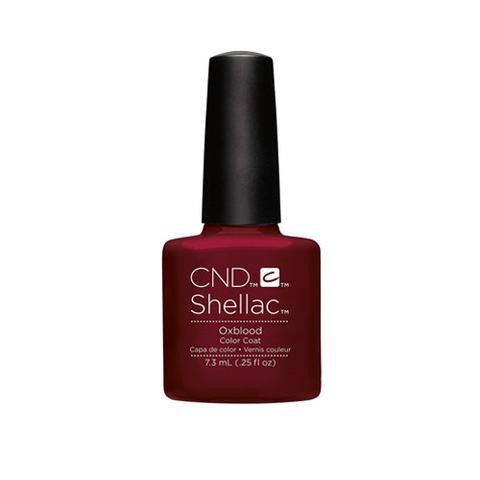 CND SHELLAC - OXBLOOD .25 OZ. - Nails Plus Depot