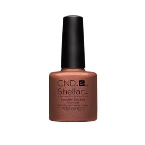 CND SHELLAC -  LEATHER SATCHEL  .25 OZ. - Nails Plus Depot