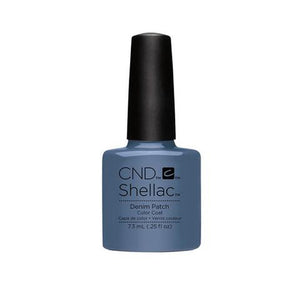 CND SHELLAC - DENIM PATCH  .25 OZ. - Nails Plus Depot