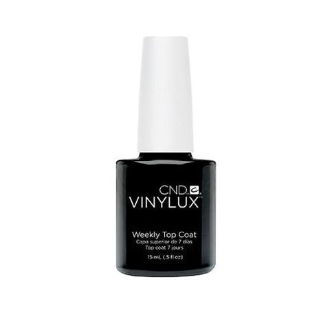 CND VINYLUX - WEEKLY  TOP COAT  0.5 OZ. - Nails Plus Depot