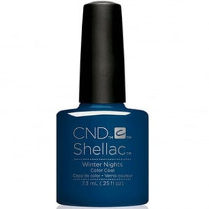 CND SHELLAC - GLACIAL ILLUSION THE COLLECTION - WINTER NIGHTS  0.25 OZ. - Nails Plus Depot