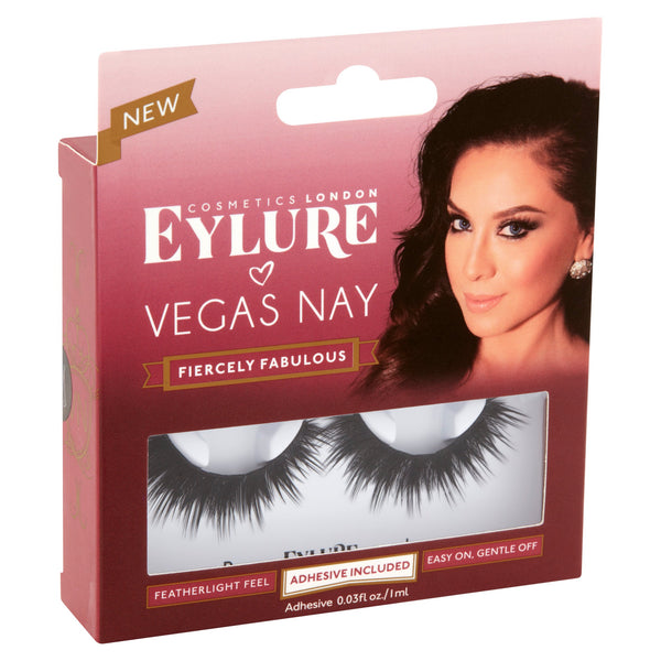 Eylure Vegas Nay Fiercely Fabulous Lashes - Nails Plus Depot