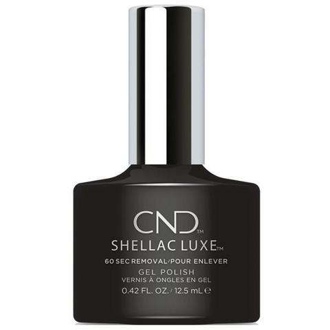 CND - Shellac Luxe Black Pool 0.42 oz - Nails Plus Depot