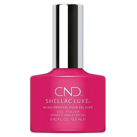 CND - Shellac Luxe Pink Leggings 0.42 oz - Nails Plus Depot
