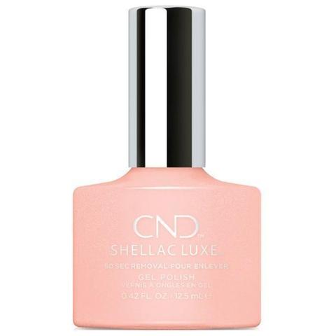 CND - Shellac Luxe Grapefruit Sparkle 0.42 oz - Nails Plus Depot