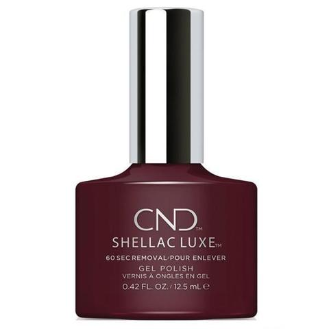 CND - Shellac Luxe Black Cherry 0.42 oz - Nails Plus Depot
