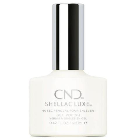 CND - Shellac Luxe Studio White 0.42 oz - Nails Plus Depot