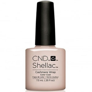 CND SHELLAC - GLACIAL ILLUSION THE COLLECTION - CASHMERE WRAP / 0.25 OZ. - Nails Plus Depot - Professional Nail Supplies