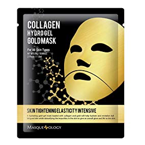 Collagen Hydro Gel Gold Mask 12 ct. - Nails Plus Depot